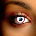 Color Vision Saw White Scary Contact Lenses