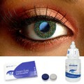 Glimmer Green Contact Lenses Complete Set