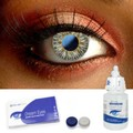 Gray One Tone Contact Lenses Complete Set