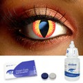 Scary Dragon Eye Contact Lenses Complete Set