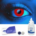 Scary UV Red Contacts Complete Set