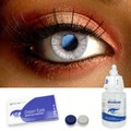 Vintage Blue Contact Lenses Complete Set