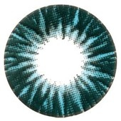 Color Vision Blue Shimmer Contact Lenses