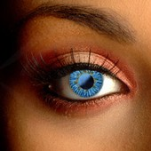 Color Vision Ocean Gold Blue Contacts