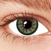 Green Sparkle Contact Lenses