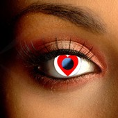 Heart Contact Lenses