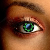 Multi Cannabis Leaf Contact Lenses