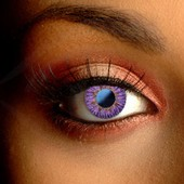 Soft Natural Violet Contact Lenses