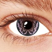 Violet Butterfly Contact Lenses