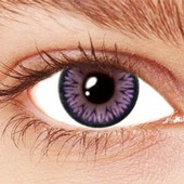Violet Sparkle Contact Lenses