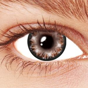 Brown Star Glow Contact Lenses