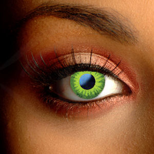 Color Vision Amazon Green Contact Lenses