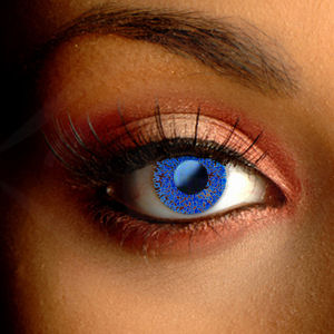 Color Vision Blue Glimmer Contact Lenses