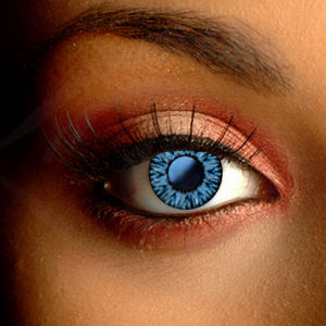 Color Vision Blue Sapphire Contact Lenses