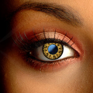 Color Vision Caramel Brown Contact Lenses