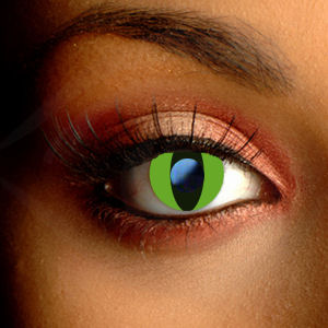 Color Vision Cobra Scary Eye Contact Lenses