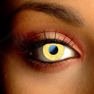 Color Vision Glimmer Gold Contact Lenses