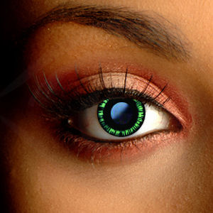 Color Vision Japanese Green Contact Lenses