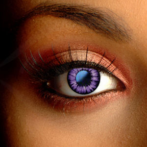 Color Vision Natural Violet Circle Lenses