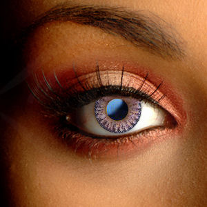 Color Vision Natural Violet Color Contact Lenses