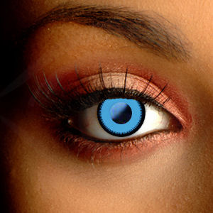 Color Vision Saw Blue Contact Lenses