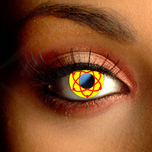 Color Vision Scary Atomic Halloween Contacts