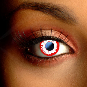Color Vision Scary Demon Contact Lenses
