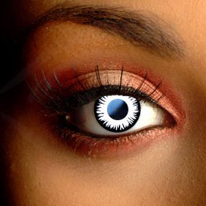 Color Vision Scary Eclipse Contact Lenses