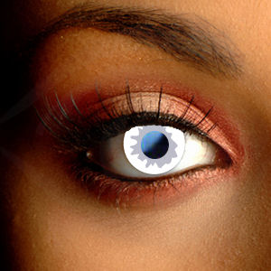 Color Vision Scary Ghost Contact Lenses
