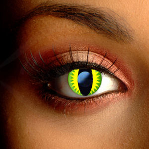 Color Vision Scary Reptile Contact Lenses