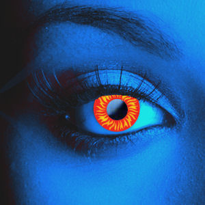 Color Vision Scary UV Wolf Eye Contacts