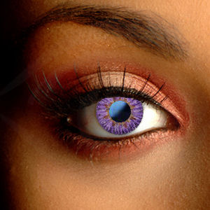 Color Vision Soft Natural Violet Contact Lenses