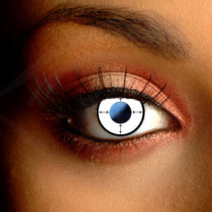 Color Vision Target Halloween Contact Lenses