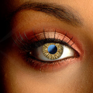 Color Vision Toffee Brown Contact Lenses