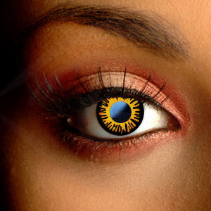Color Vision Twilight Bella Scary Contact Lenses