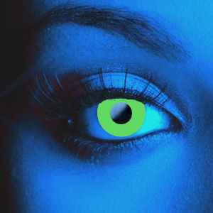 Color Vision UV Green Contact Lenses