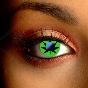 Color Vision Weed Contact Lenses