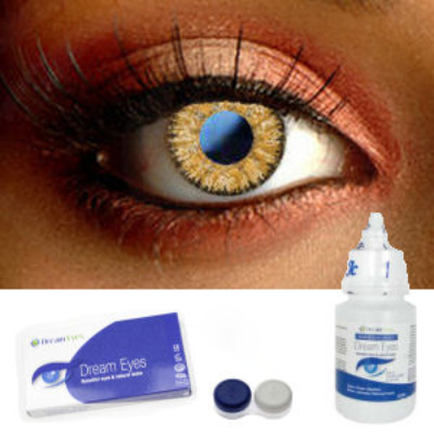 Glimmer Amethyst Contact Lenses
