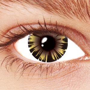 Iced Honey Contact Lenses