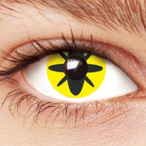 Insect Yellow Contact Lenses