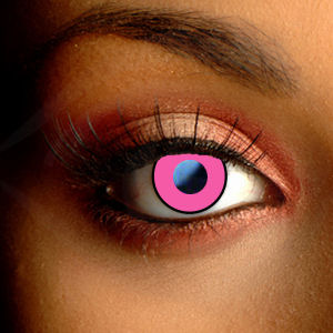 Pink Manson Contact Lenses