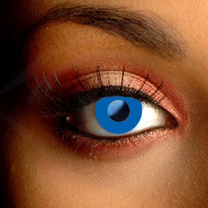 Royal Blue Color Contacts