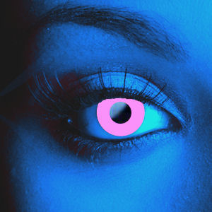 Scary UV Pink Contacts