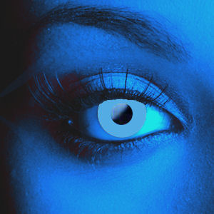 UV Blue Contact Lenses